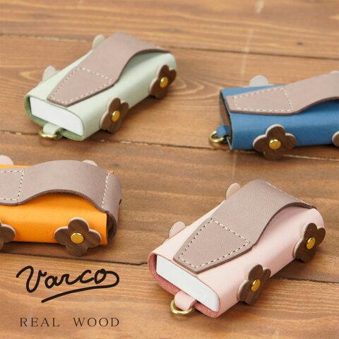VARCO REAL WOOD フリスカー120 フルール 革 本革 レザー 日本製 木製 小銭入れ かわいい おしゃれ かっこいい シンプル スリム ブランド 小さい 小物入れ