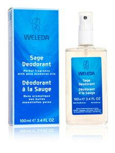 【ヴェレダ】【WELEDA】セージ デオドラントスプレーノンケミカルで体に安心♪爽やかハーブの香...