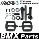 ROCKER3BMXParts8TCranksRocker3(withBlackPedals)クランクセットペダルロッカーBMXパーツ部品