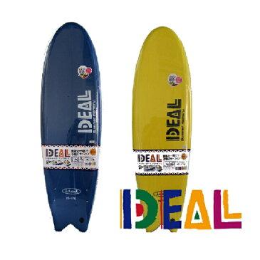 IDEAL SURF SOFTBOARD 5'10