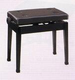 【送料込み】ピアノ椅子 K50-D[黒塗]
