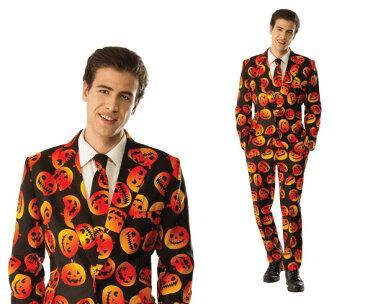 【メンズ】パンプキンタキシード【パンプキン】【かぼちゃ】【スーツ】【ハロウィン】【コスプレ】【コスチューム】【衣装】【仮装】【集団仮装】【かわいい】