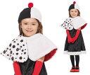 【キッズ】子供用クルエラ【Tod】【クルエラ】【101匹わんちゃん】【ヴィランズ】【ディズニー】【Disney】【ハロウィン】【コスプレ】【コスチューム】【衣装】【仮装】【かわいい】