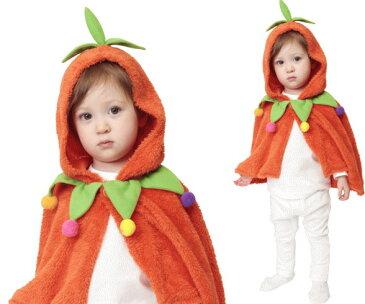【ベイビー】もこもこパンプキンケープ【パンプキン】【かぼちゃ】【着ぐるみ】【あかちゃん】【Baby】【ハロウィン】【コスプレ】【コスチューム】【衣装】【仮装】【かわいい】