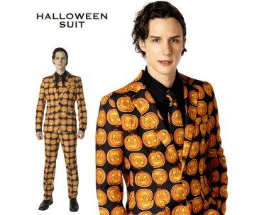 【メンズ】ハロウィンスーツ【パンプキン】【スーツ】【背広】【紳士】【ハロウィン】【コスプレ】【コスチューム】【衣装】【仮装】【集団仮装】【かわいい】