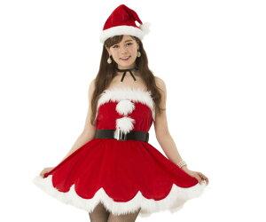 【レディ】デイジーワンピースサンタ【サンタ】【クリスマス】【仮装】【衣装】【コスプレ】【コスチューム】【サンタクロース】【パーティ】【イベント】【かわいい】