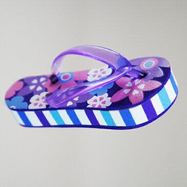 【メール便OK】アンテナボール(フリップフラップサンダル)【AntennaBall】アンテナトッパー/Antennatopper/ビーチサンダル/カーアンテナ【フリップフラップサンダル】紫/パープル/Purple【ポイント】05P03Dec16