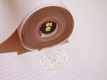 <袷の仕立代込価格><特価>桐壷 菱健謹製 正絹 高級刺繍小紋【送料無料】女性用 日本製 ※長羽織や和装コートに仕立てる事も可能。※仕立ての段階に入ってからのキャンセル等はお断りします。※お仕立てを弊社が担当する場合は代引できません。※反物での販売も可能です。