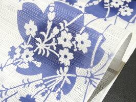 <本格派レディースゆかた>日本橋竺仙鑑製綿絽白地注染女性用高級浴衣【お仕立代込み&送料無料】日本製ちくせん反物綿100%※仕立ての段階に入ってからのキャンセル等はお断り致します。※反物での販売も行なっております。