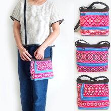 【メール便】モン族手刺繍ポシェットSサイズ