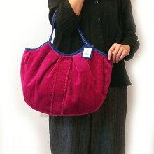 sisiグラニーバッグ120%ビッグサイズソファーフリンジレッドsisバッグA4が入る布バッグ