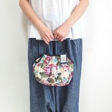 【メール便】sisiミニグラニーバッグボタニカルDバッグインバッグちょっとそこまでのsisiバッグ布バッグ