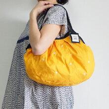 sisiグラニーバッグ定番サイズ刺繍オレンジsisiバッグ布バッグ