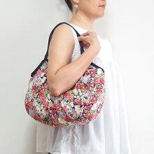 【メール便可】sisiグラニーバッグ定番サイズボタニカルBsisiバッグ布バッグショルダーバッグ花柄