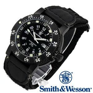 スミス&ウェッソン Smith & Wesson 正規品 ミリタリーウォッチ スイス トリチウム 腕時計 メンズ SWISS TRITIUM 357 SERIES TACTICAL WATCH NYLON SWW-357-N ダイバーズ ダイバー デイトカレンダー 日付 雑誌掲載ブランド 男性用 時計