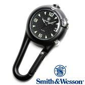 [正規品] スミス&ウェッソン Smith & Wesson ミリタリー時計 CARABINER CLASSIC WATCH BLACK SWW-36-BLK [あす楽] [ラッピング無料] [送料無料]