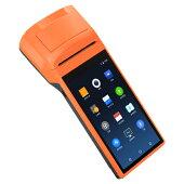 プリンター内蔵AndroidスマートターミナルSUNMIV1s58mm幅5.5インチHDディスプレイ搭載Bluetooth接続レシートプリンター