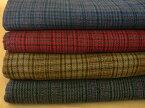 ウール混150cm巾1/10ハンティング グレンチェック