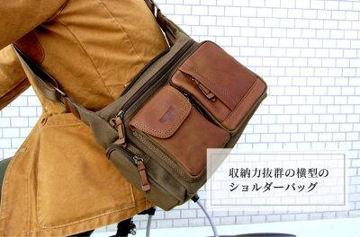 バックメンズ鞄多機能バックミラグロホリデーショルダーバッグ横型