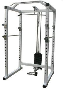高重量設計!ジムレベルのトレーニングが可能!75mmハイパワーラック 200ポンド付き(※代金引...