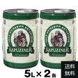 [送料無料][ビール][ドイツ][2缶セット][大容量]カプツィーナ ヴァイツェン5L缶×2缶賞味期限2017年12月2日 ドイツビール 樽 ビア樽 ビアサーバービール ビア BEER
