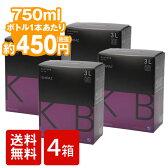 箱ワイン [送料無料][4個セット]3L オーストラリア KB シラーズ 赤ワイン 箱 バッグインボックス BIB [送料込]