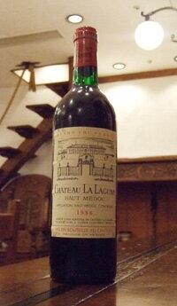 ワイン, 赤ワイン  1986Chateau La Lagune