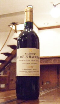 ワイン, 赤ワイン  19902Chateau la Tour Haut Brion
