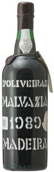 マディラ・ペレイラ・ドリヴェイラ・マルヴァジア[1989]年・(平成1年)Madeira Pereira D'Oliveira Malvasia [1989]