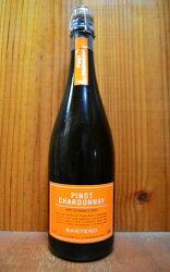 サンテロ・ピノ・シャルドネ・ヴィノ・スプマンテ・ブリュットPinot Chardonnay Spumanteピノ・ブラン種とシャルドネ種で造られたきめ細かい泡立ちとスッキリした味わいの本格辛口スパークリングワイン!!