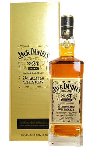 アメリカン・ウイスキー, テネシー・ウイスキー  No.27 (GOLD) 700ml 40 JACK DANIELS No.27 GOLD TENNESSEE WHISKY JACK DANIELS 700ml 40
