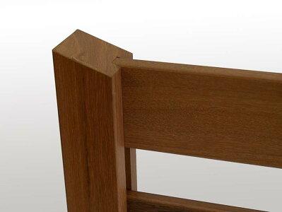 ウッドデッキ用手摺(手すり)1セット材質ウリン簡単設置後付け可能