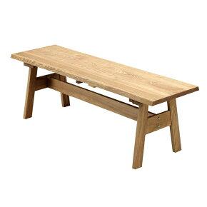 ダイニングベンチ幅150cmナチュラル木製和風