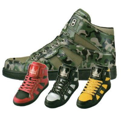 寅壱 安全靴 0107-965 セーフティースニーカー (ミッドカット) 24.5〜28.0cm