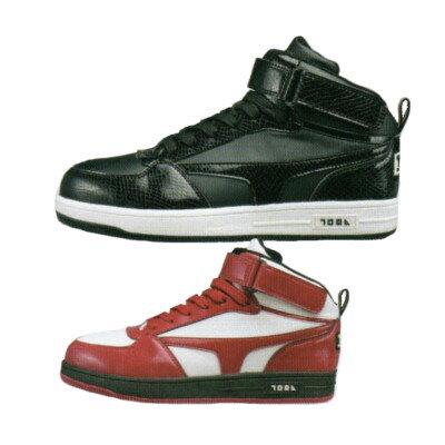 寅壱 安全靴 0117-965 セーフティースニーカー (ミッドカット)24.5〜28.0cm