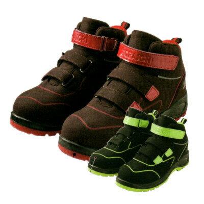 寅壱 安全靴0187-965 セーフティースニーカーミッドカット 24.5〜28cm
