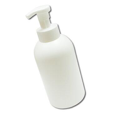 泡立てポンプボトル800ml(白)クリーム状の泡が出てくる!泡ボトル 小分け容器 大容量 日本製 ポンプフォーマー ソープディスペンサー ハンドソープ 液体石鹸 ベビーせっけん 台所用せっけん/洗顔からボディソープまで幅広く使える詰め替え容器