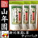 【掛川深蒸し茶 ティーパック】掛川茶 とげぬき地蔵茶 3g×...