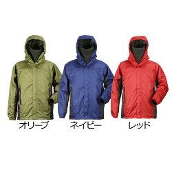 【レビューを書いて送料無料!】防水防寒ジャケット5410釣りに雪かきにスクーターに!あったかレインスーツとして!