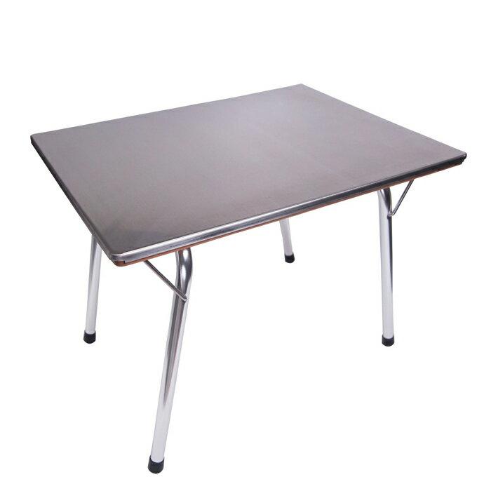 エリッゼ 2WAY ステンレス・竹 サイドテーブル