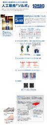 低反発中敷靴の友「足楽」21.0cm〜28.0cmSG-094T