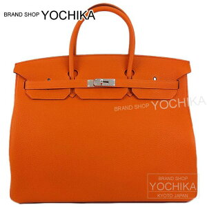 HERMES エルメス バーキン40 オレンジ トゴ シルバー金具(HERMES Birkin40 Bag Orange Togo SHW...