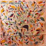"""【夏先取りSALE中!】HERMESエルメスカレ90スカ�`フ""""LeBaldeOiseaux""""サ�`モンXヴェ�`ルXオレンジシルク100%新品(HERMESCarreScarf""""LeBaldeOiseaux""""Saumon/Vert/Orange)【あす�S���辍俊�Sギフ_包装】#yochika"""