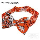 """�ڼ�ʬ�ؤΤ�˫���ˡ���2015ǯ����HERMES����ij�ͥ������ܥ��������祦������ܥ�Хå����㡼��""""�ѥԥ��""""�����X�륯100%����(BowtieBagcharm""""Papillon""""Orange/White[BrandNew][Authentic])�ڤ������б���#yochika"""