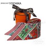 "HERMES�����ĥ����������""�֤�Ļ������""�ӥ塼�?��X�ե��ܥ�����륯100%����(2016SSNEWHERMESTwillyScarf""Fleursetlaterredesoiseaux""ViewRose/FramboiseSilk100%)�ڤ������б��ۡڳڥ���_������#yochika"
