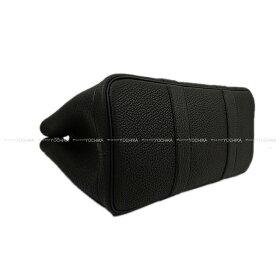 HERMES・エルメス・ガーデンパーティー・黒ネゴンダ(オールレザー型押し)TPM新品