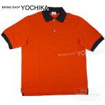 ��SUMMERSALE�����桪��HERMES������ݥ?���Ⱦµ���ꥨ�ܥ����ե����X�ޥ��M����������(HERMESMen'sShort-sleevedpoloshirtOrange/Mrine#M)�ڤ������б��ۡڳڥ���_������#yochika