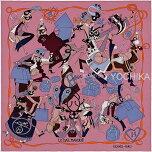 """【クリスマスプレゼント特集!】2014年秋冬新作HERMESエルメススカーフカレ70""""LeBalMasque""""ローズウッドXブルーシルク100%新品(HERMESCarre70Scarf""""LeBalmasque""""RoseWood/BleuSilk100%[BrandNew])【あす楽対応】【楽ギフ_包装】#よちか"""