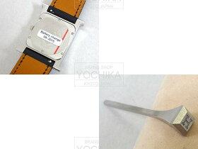 """HERMESエルメスレディース腕時計HウォッチPM11Pダイヤ""""HH1.510""""黒エプソンXシェルXホワイトダイヤモンド(0.09ct)新品未使用(Lady"""