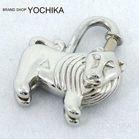 """【自分へのご褒美に!】HERMESエルメスカデナ1997年限定""""ライオン""""シルバー新品同様【中古】([Pre-loved]HERMESCadenaLimited1997""""Lion""""Silver[Nearmint][Authentic])【あす楽対応】【楽ギフ_包装】#よちか"""